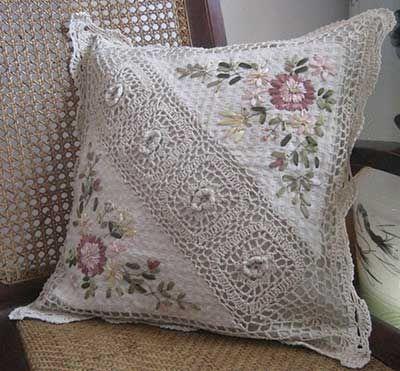 Almofadas de Crochê para Decoração: Fotos, Modelos, Dicas