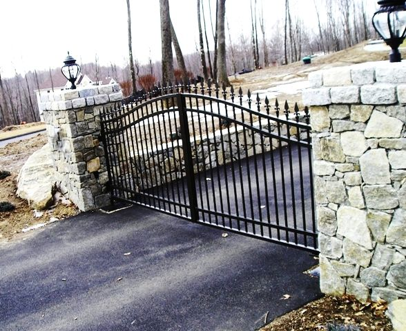 Best images about gates on pinterest faux stone