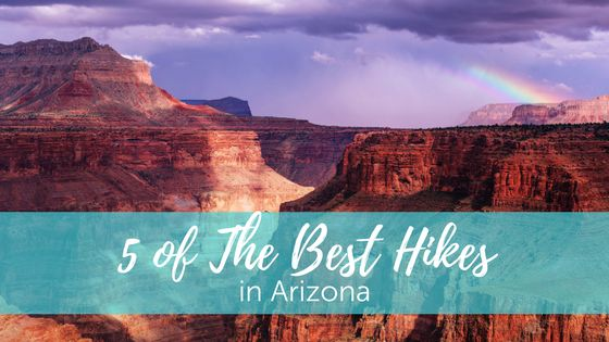5 of The Best Hikes in Arizona http://www.goadventuremom.com/2017/05/5-best-hikes-arizona/?utm_campaign=coschedule&utm_source=pinterest&utm_medium=Go%20Adventure%20Mom%20&utm_content=5%20of%20The%20Best%20Hikes%20in%20Arizona  If being outdoors is your kind of thing, Arizona, the Grand Canyon State, has some pretty spectacular trails for you.  Many people picture Arizona as just a hot desert, but there's a lot of more diversity and variety than you think. There are many trails for beginners…