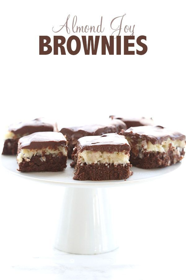 Almond Joy Brownies | Almond joy, Almonds and Coconut
