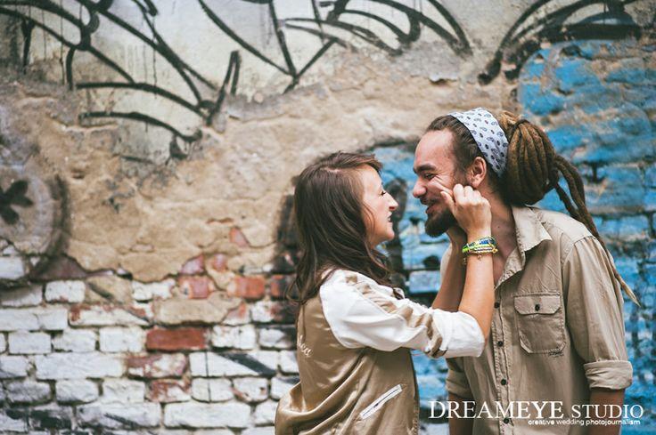 dreameyestudio.pl  #dreameyestudio #photoshoot #emotions #happiness #lovelycouple #dreads
