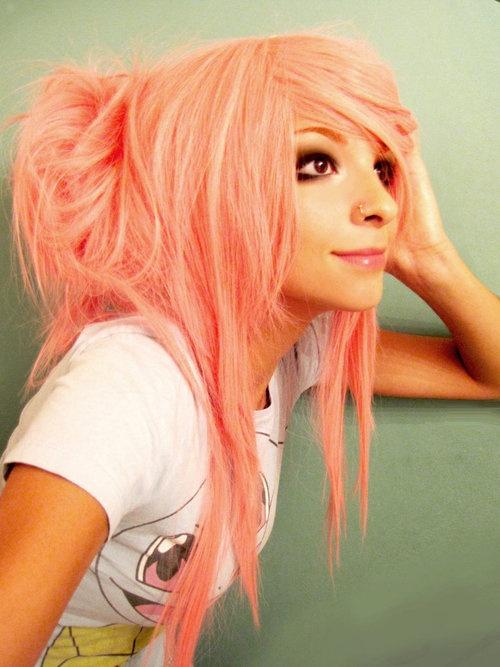 hair color - looks like Manic Panic Pretty Flamingo