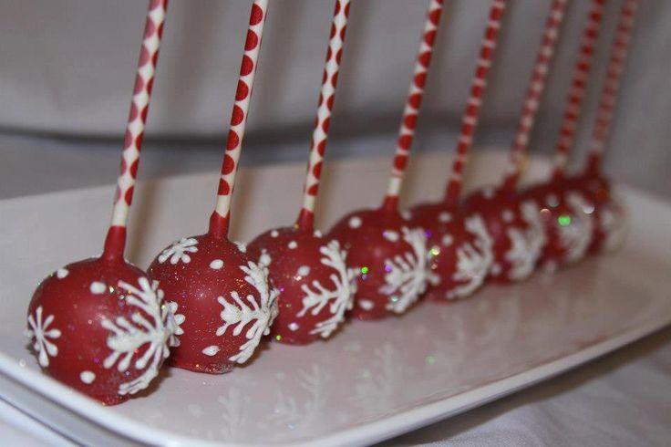Christmas Cake Pops Pinterest
