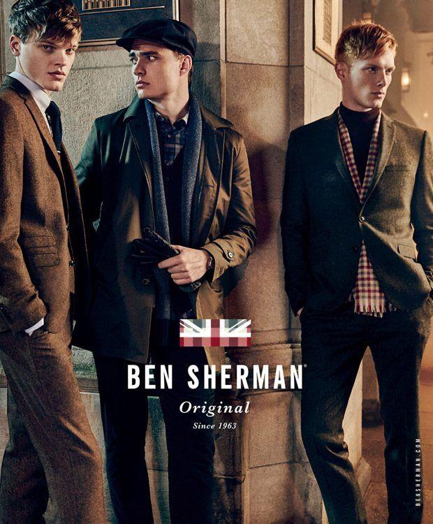 for Ben Sherman FW16 Ads