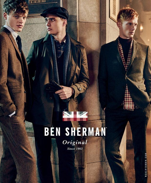 Ivan Kozak, Linus Wordemann and Reid Rohling for Ben Sherman FW16 Ads