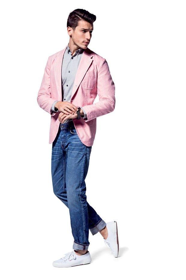 Blazer Lacoste R$ 1.290 | Camisa Burberry R$ 895 | Calça jeans G-Star Raw na Uppermen R$ 445 | Relógio Breitling for  Bentley 6.75 R$ 33.748 | Tênis Superga R$ 220 (Foto: Franco Amendola)