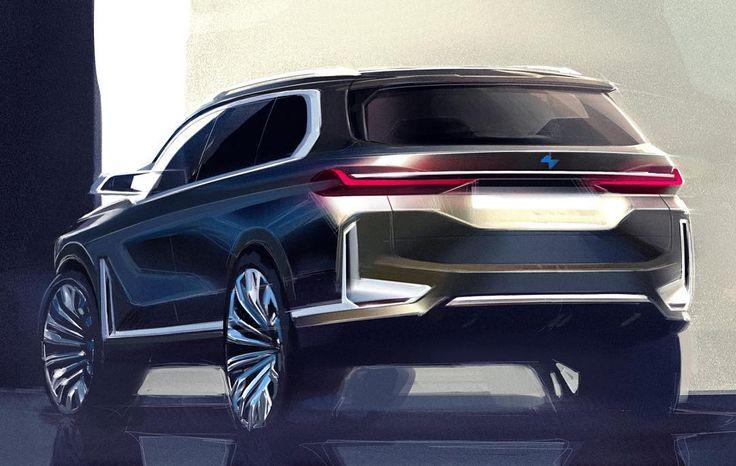 BMW X7 official sketch #cardesign #car #design #carsketch #sketch #bmw #bmwx7 #suv