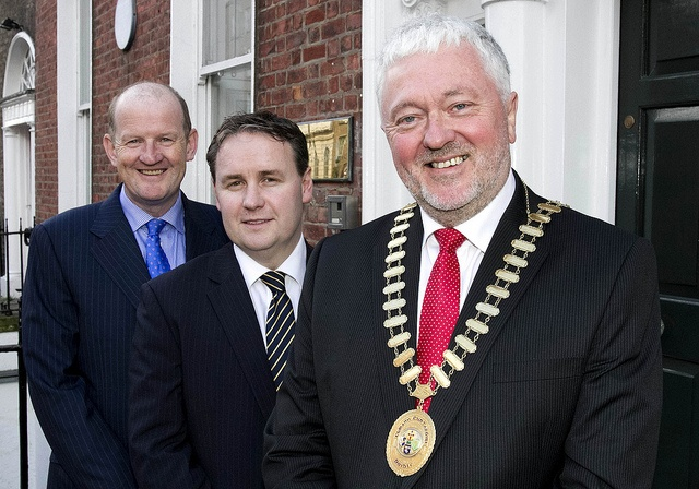 CPA Ireland Officer Group 2013 L-R Vice Presidents Brian Purcell and Cormac Fitzgerald, Joe Aherne, President