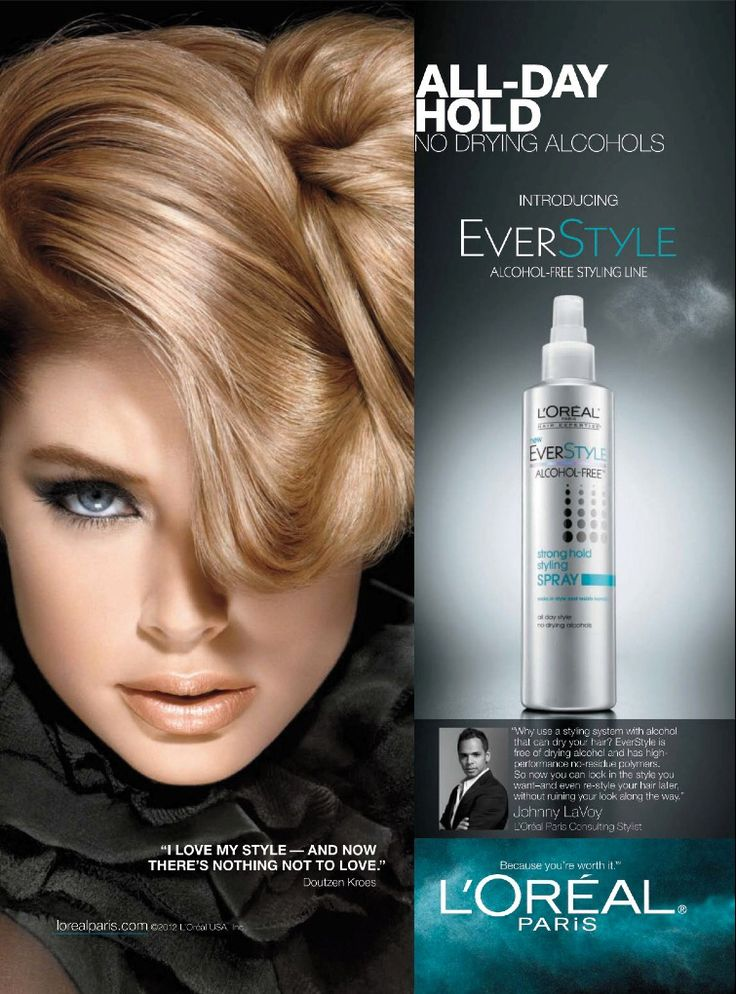 LOreal Paris HairCare Advertising With Doutzen Kroes