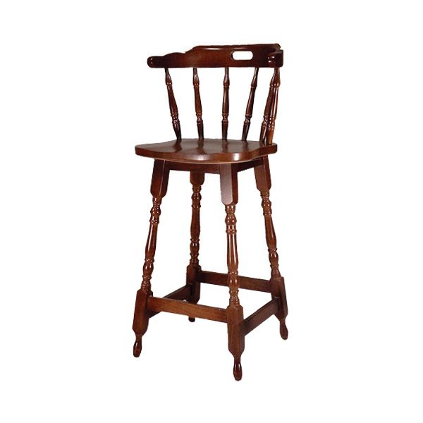 Captains Pub High Stool | Buy Traditional Bar Stools Pub Stool Wooden Stool - Buy at drinkstuff