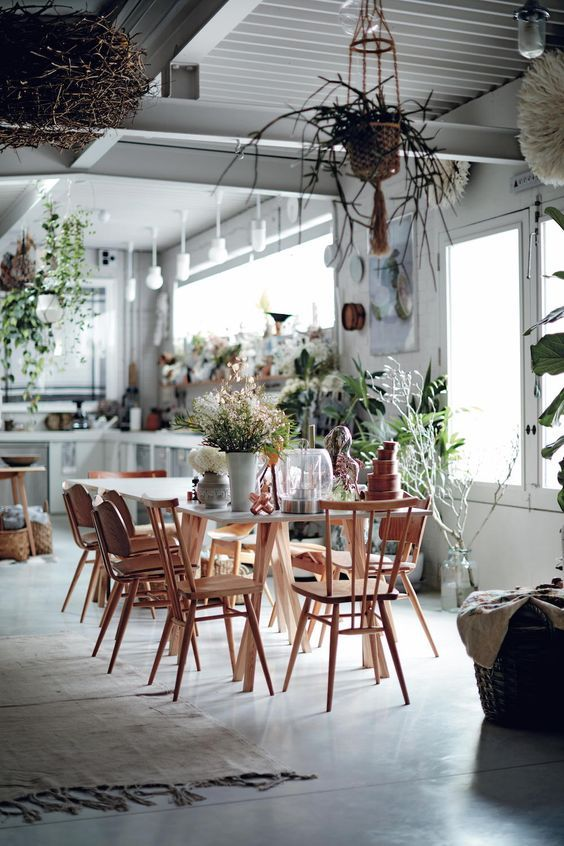 Greenery has an untamed feel. Choose wildflowers, fragrant herbs and trailing fronds to get the look just right #IWANTTHATSTYLE