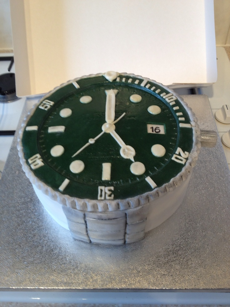 Rolex Watch Cake Cute Birthday Cake Novelty Cakes