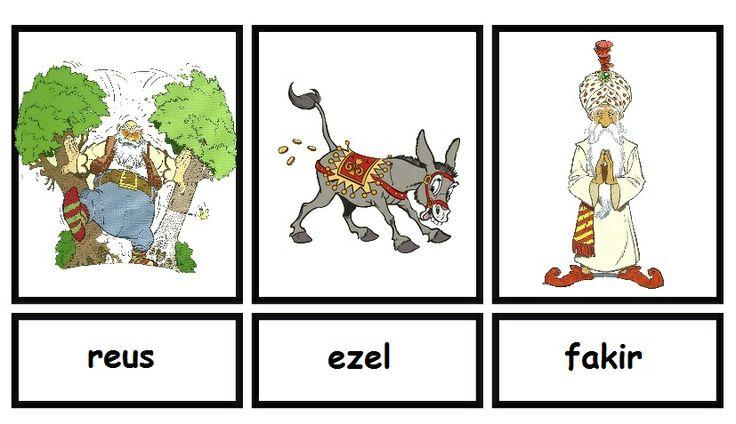 Woordkaarten Efteling deel 3