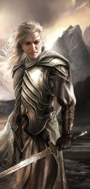 Glorfindel, also known as Glorfindel of Rivendell, was an Elf-lord of a house of princes, one of the mighty of the Firstborn.  Seraph world Rithril's dad