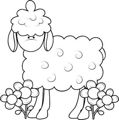 Spring Sheep 2 - Craft Pattern