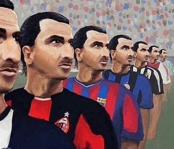 Zlatan w Ajaxie, Juventusie, Malmo, Interze, AC Milanie, FC Barcelonie czy obecny w PSG • Który Zlatan Ibrahimovic był najlepszy? >> #zlatan #ibrahimovic #football #soccer #sports #pilkanozna