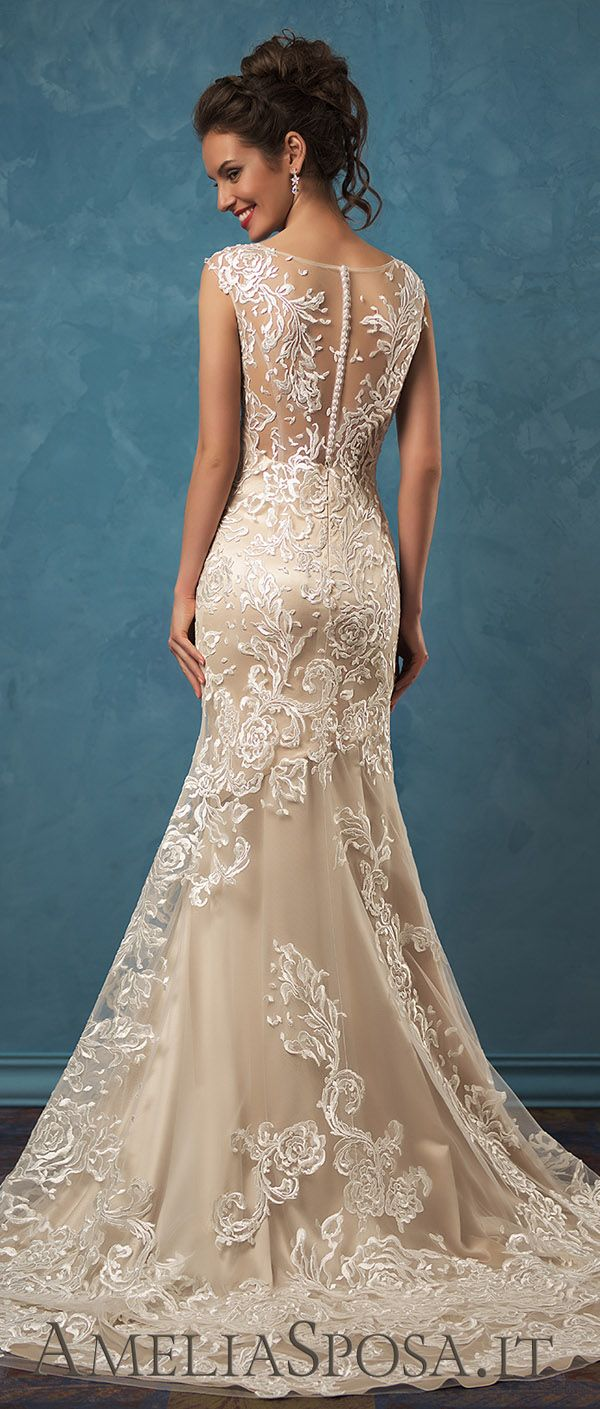 Amelia Sposa two pieces lace wedding dresses Olivia
