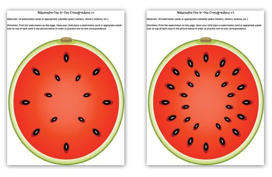 Free Watermelon-Themed Activities for Preschoolers (Math, Shapes/Colors, Alphabet)