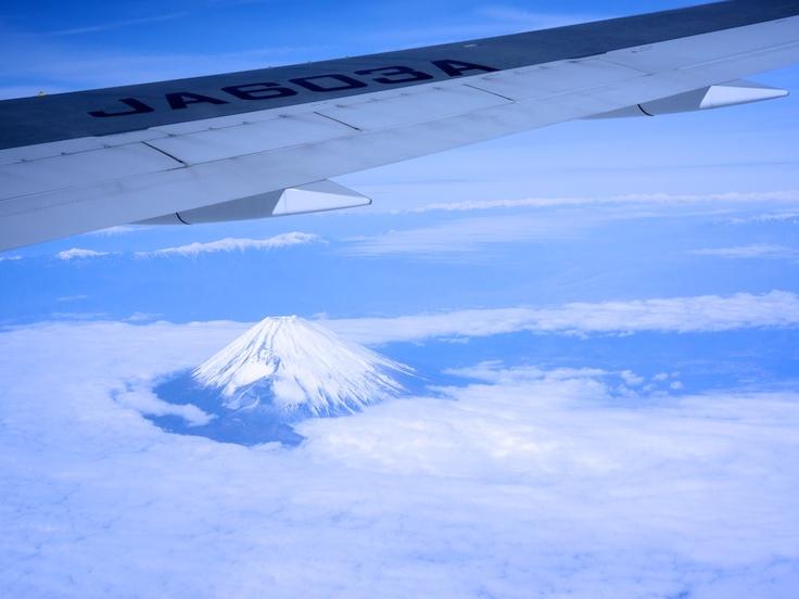 view from Taipei flight on DEC 2012