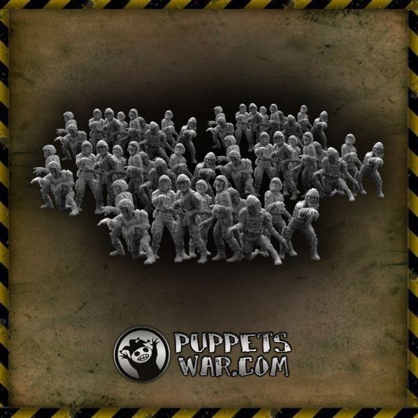 Zombie Troopers Horde, 50 zombies https://puppetswar.eu/product.php?id_product=665