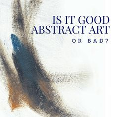 """By Nicole Tinkham When looking at a famous abstract painting do you ever think """"I could do that""""? If you're wondering how something so simple can be considered a masterpiece, you're not alone. Is i..."""