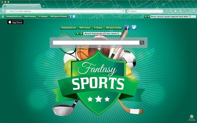 Brand Thunder Fantasy Sports Browser Theme 2015