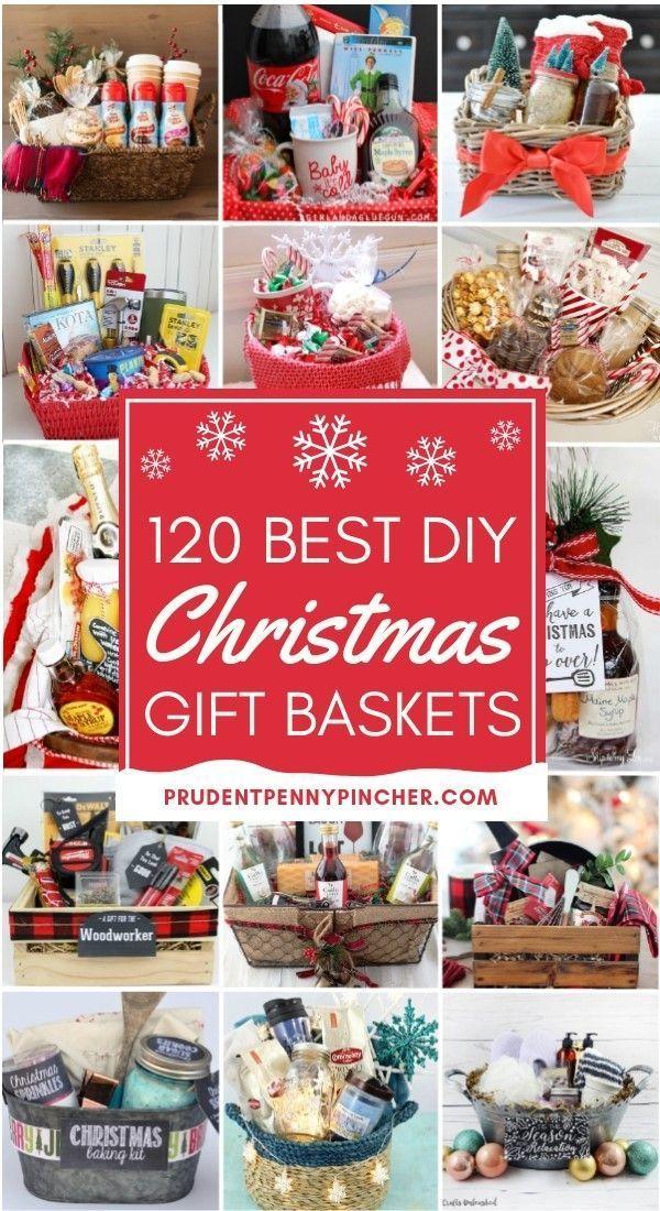 120 Best DIY Christmas Gift Baskets #Christmas #ChristmasGifts #gifts #giftbaske…