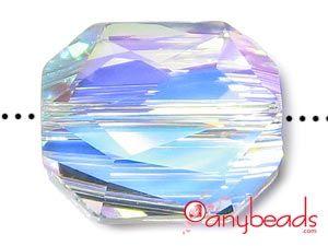 Crystal AB - Austrian Swarovski Crystal Elements 5520 Graphic Bead 18mm #anybeads #Swarovski #crystalbeads #jewelrysupplies