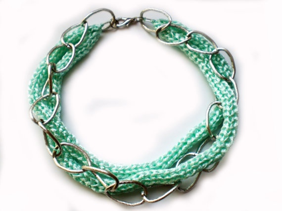 French Knitting Jewellery : Images about french knitting on pinterest
