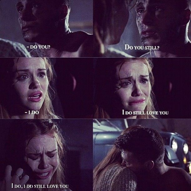 Teen Wolf Season 2 Lydia And Jackson - Then Jackson does and then comes back as a werewolf