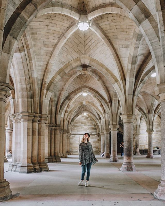 Wandering Through The Magical Corridors Of Hogwarts Ok Maybe Not The Actual Hogwarts But It Doesnt Get Much Closer To Visit Glasgow Glasgow Glasgow Cathedral