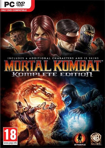MORTAL KOMBAT KOMPLETE EDITION Pc Game Free Download Full Version