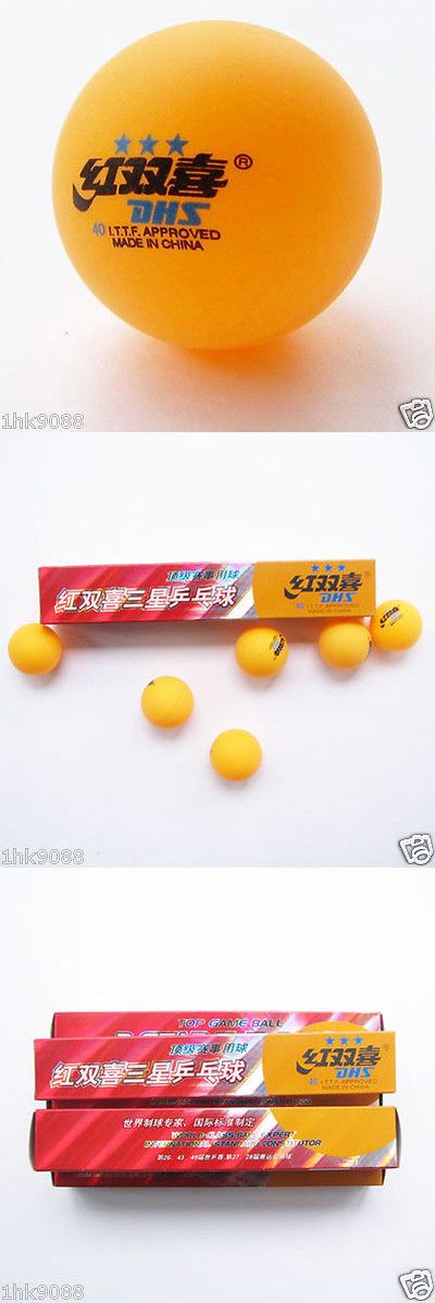Balls 97073: 20 Boxes (120 Pcs) 3 Stars Dhs 40 Mm Olympic Table Tennis Orange Ping Pong Balls -> BUY IT NOW ONLY: $41.99 on eBay!