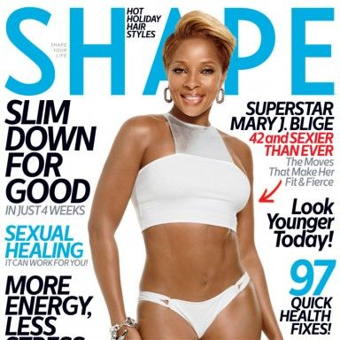 See Mary J Blige's December Cover of SHAPE - Shape Magazine
