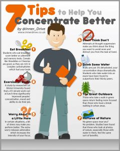 Simple tips to improve concentration. Great revision tips to improve metacognition and self-regulation. Simple exam tips to help manage exam stress