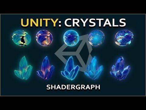 Unity Shader Graph: Crystals! - YouTube | Unity shader Graph