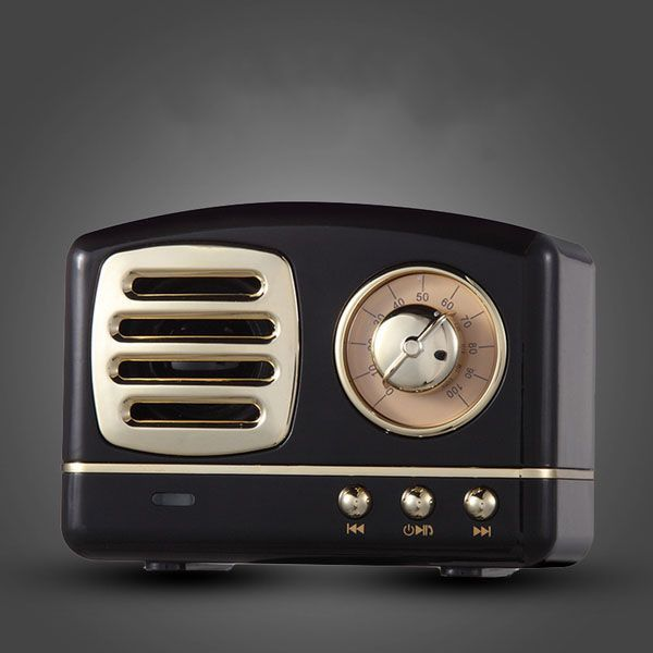 Retro Radio Bluetooth Speaker From Apollo Box Retro Radios Apollo Box Bluetooth Speakers Portable