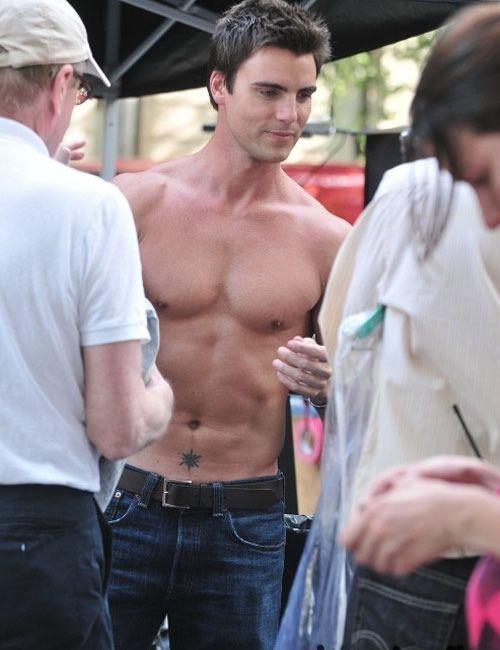 Mmmm...Christian Grey....is that a tattoo I spy?