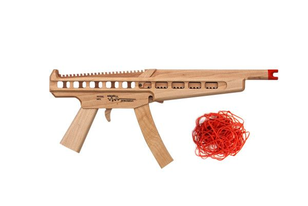 Elastic Precision MP5 Hardwood Rubberband Gun