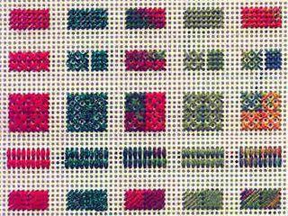 Перфорированная бумага для вышивки