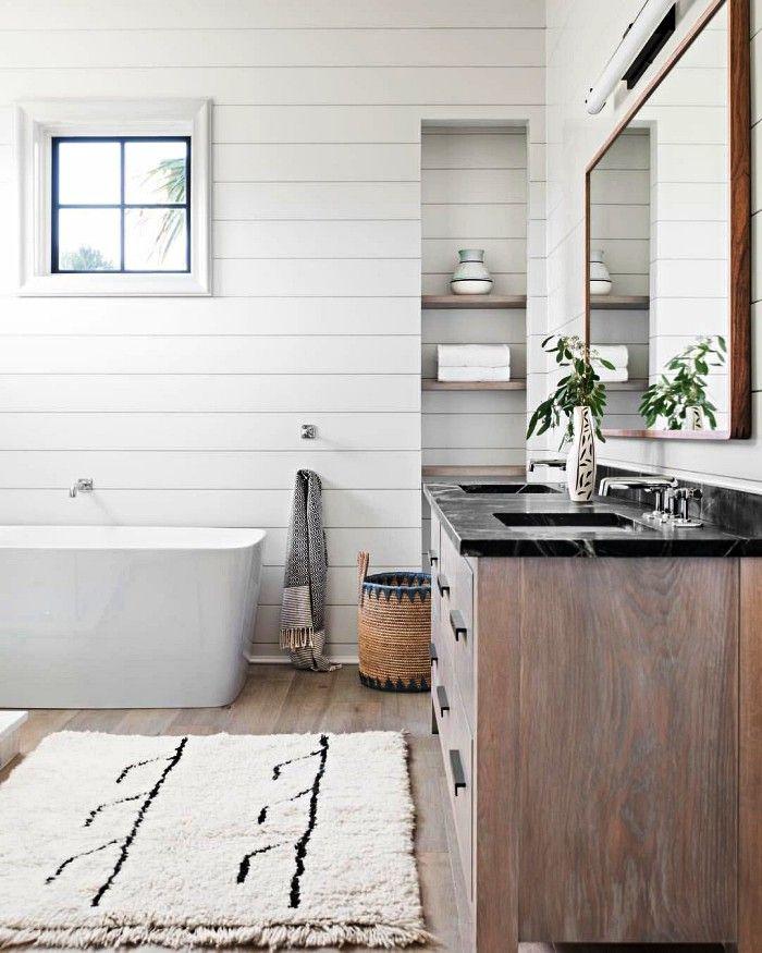 25+ Lambris pour salle de bain trends