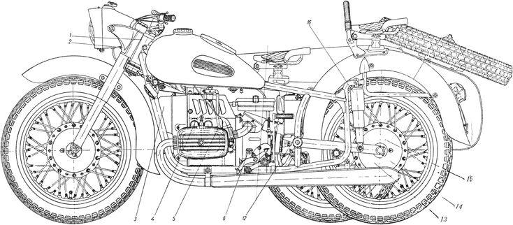 чертежи мотоциклов картинки понимаю что ношение