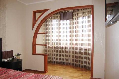 Балкон, присоединенный к спальне