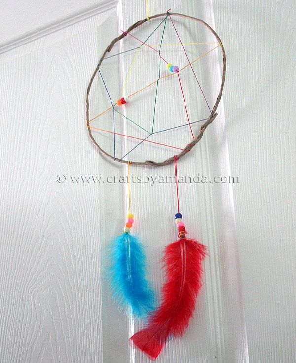 17 best images about vbs blast from past 2015 on pinterest for Easy to make dream catchers