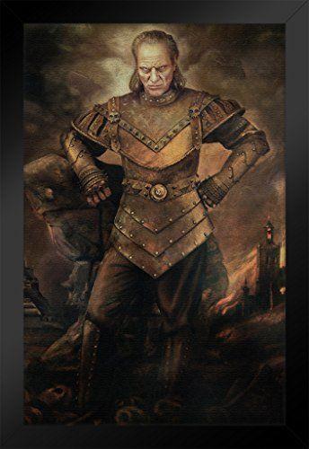 ProFrames Vigo the Carpathian Ghostbusters Movie Painting Framed Poster 12x18 @ niftywarehouse.com
