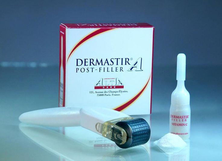 Post filler Dermastir vitamin C after microneedling with aesthetic rollers to prevent pigmentation. Buy now on altacare.com
