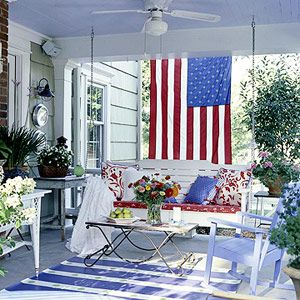 204 Best Images About Patriotic Porches On Pinterest Red