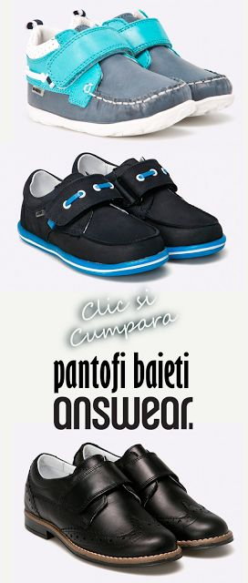 Pantofi pentru baieti Answear #magazindefashion