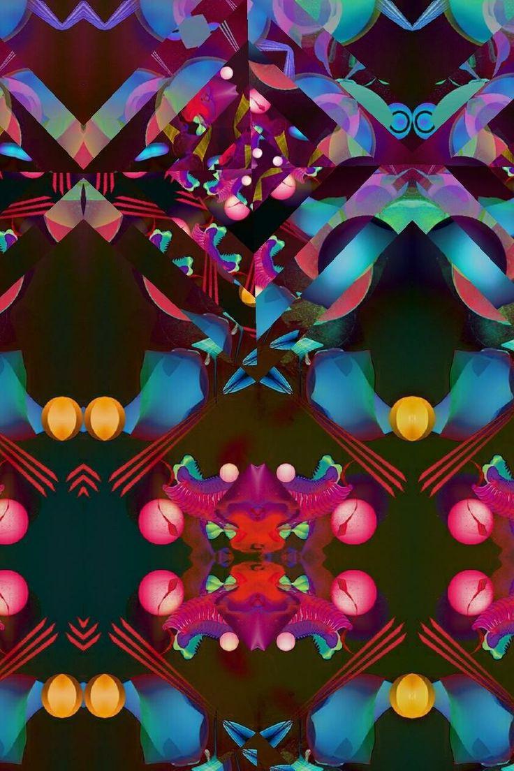 Color art floral wonders - Fractal Patterns Color Art Mandalas