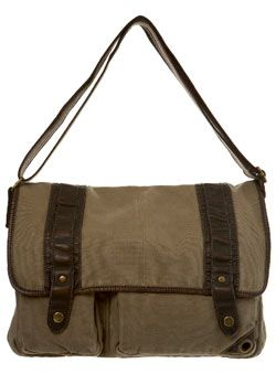 Burton Stone Washed Canvas Despatch Bag With Brown Mock Leather Trims Garment InformationStone canvas despatch bag with brown mock leather trims with a washed finish to give a casual look.Includes a popper fastening to the front flap, adjustable striped canvas shoulder  http://www.comparestoreprices.co.uk/mens-clothing-accessories/burton-stone-washed-canvas-despatch-bag-with-brown-mock-leather-trims.asp